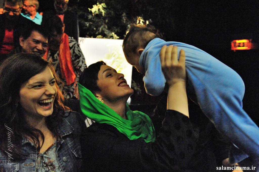 ترانه علیدوستی و دخترش حنا taraneh alidoosti