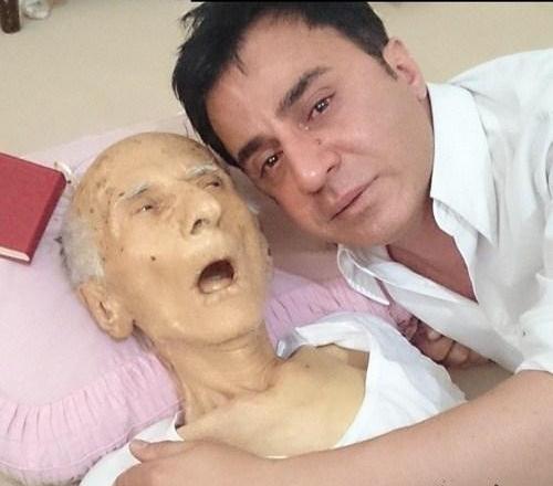 گی اینستاگرام عکس یادگاری داریوش فرضیایی(عمو پورنگ) با مرحوم پدرش ...