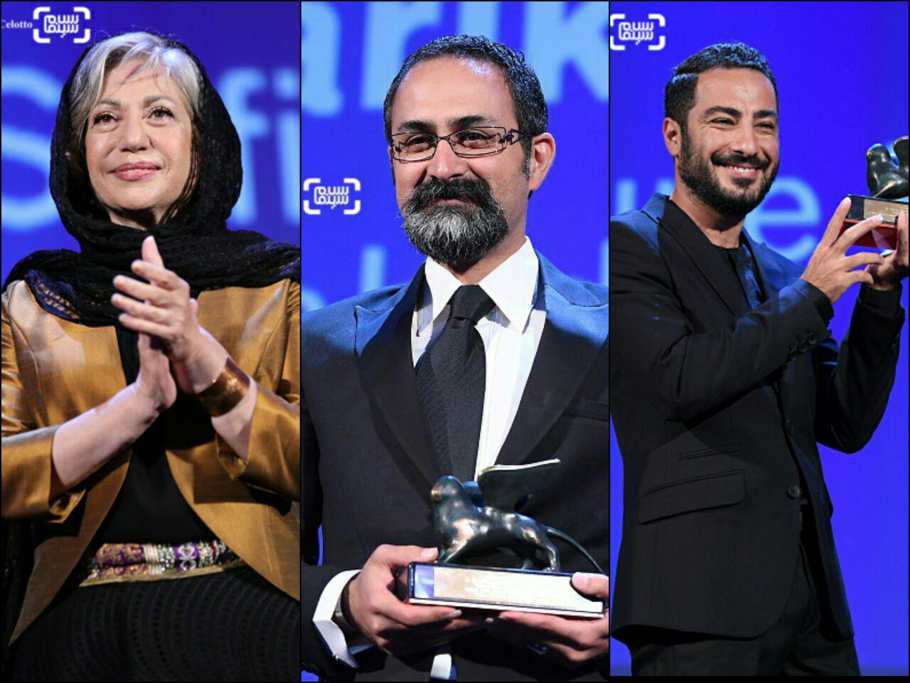 اختتامیه جشنواره ونیز با حضور نوید محمدزاده، رخشان بنی اعتماد و وحید جلیلوند/ گزارش تصویری