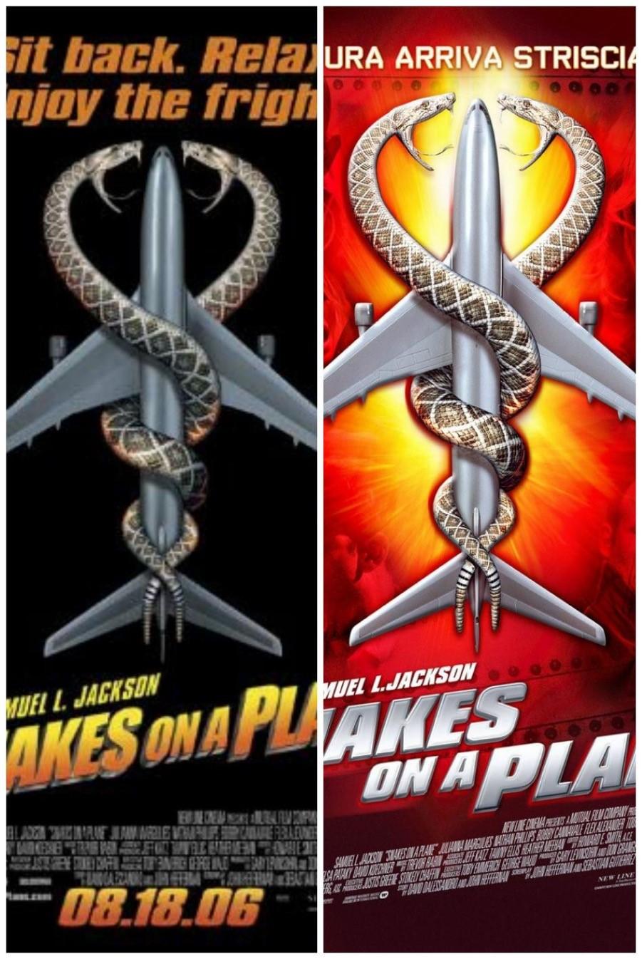 1- مار ها در هواپیما (Snakes on a Plane)
