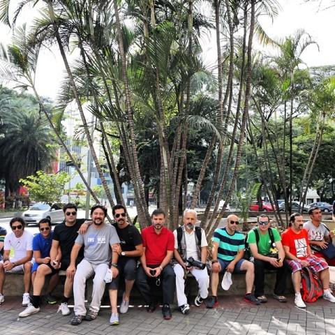عکس بازیگران در برزیل-جام جهانی 2014