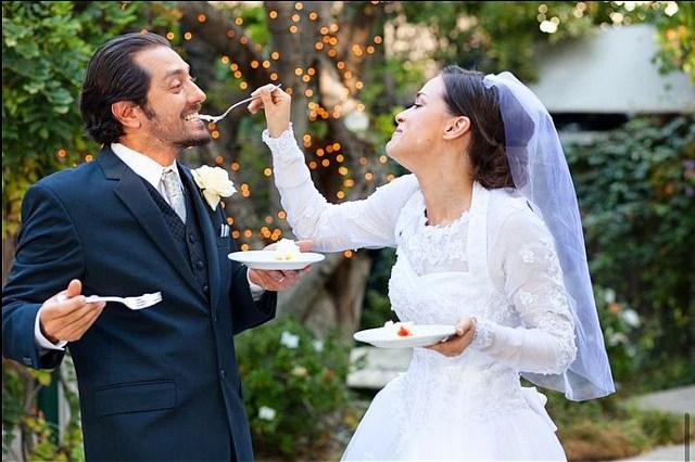 عکس عروسی بهرام رادان