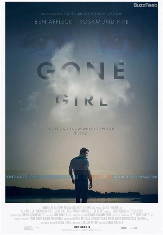 پوستر gone girl