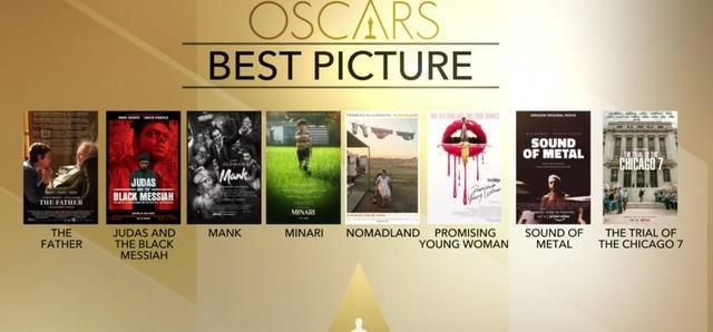 نامزدهای بهترین فیلم اسکار 2021