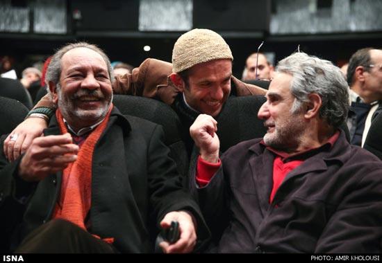 عکس داریوش فرهنگ و مهدی هاشمی و بابک حمیدیان