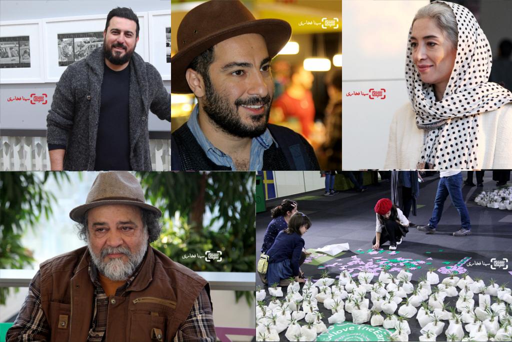 گزارش تصویری از سی و سومین جشنواره بین المللی فیلم کوتاه تهران2