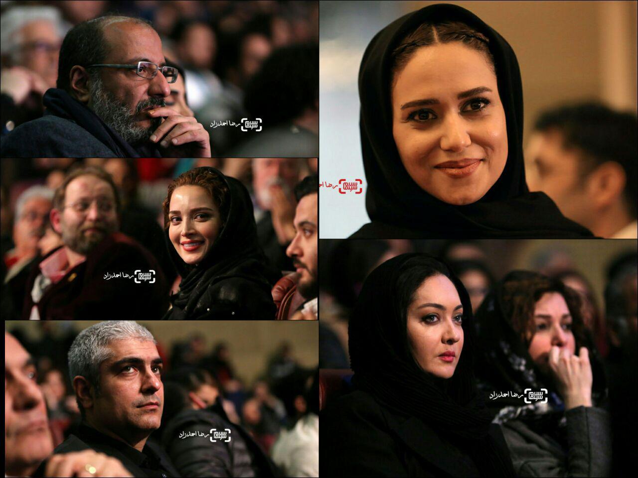 گزارش تصویری مراسم افتتاحیه سی و پنجمین جشنواره فیلم فجر 1