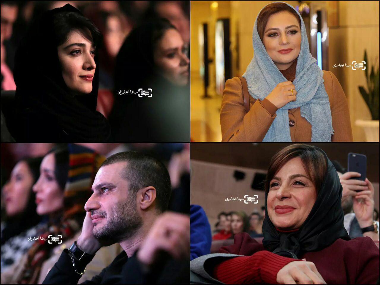 گزارش تصویری مراسم افتتاحیه سی و پنجمین جشنواره فیلم فجر 2