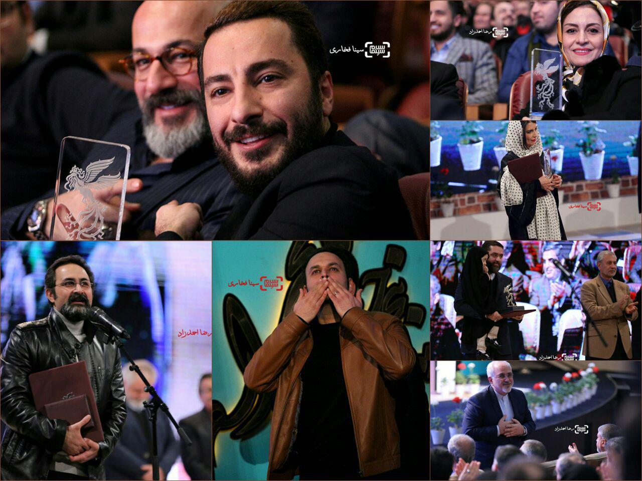گزارش تصویری اختتامیه سی و پنجمین جشنواره فیلم فجر(اختصاصی سلام سینما)2