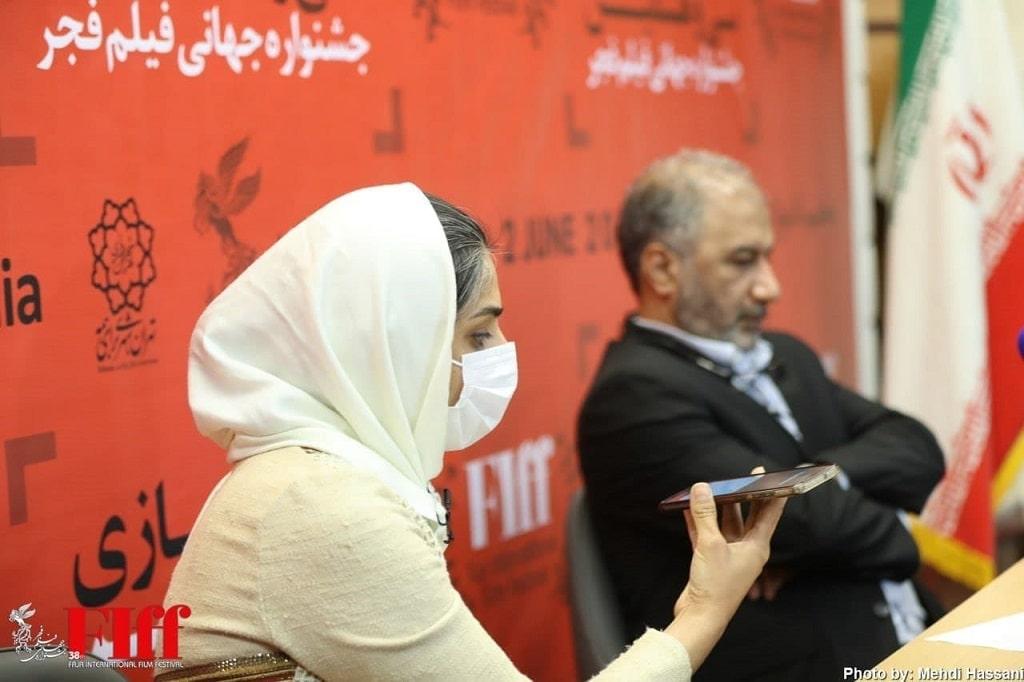 پاسخ به سوالات در نشست خبری جشنواره جهانی فیلم فجر