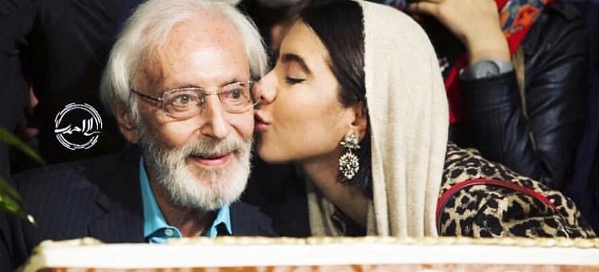 جشن تولد ۸۴ سالگی جمشید مشایخی/ ویدیو