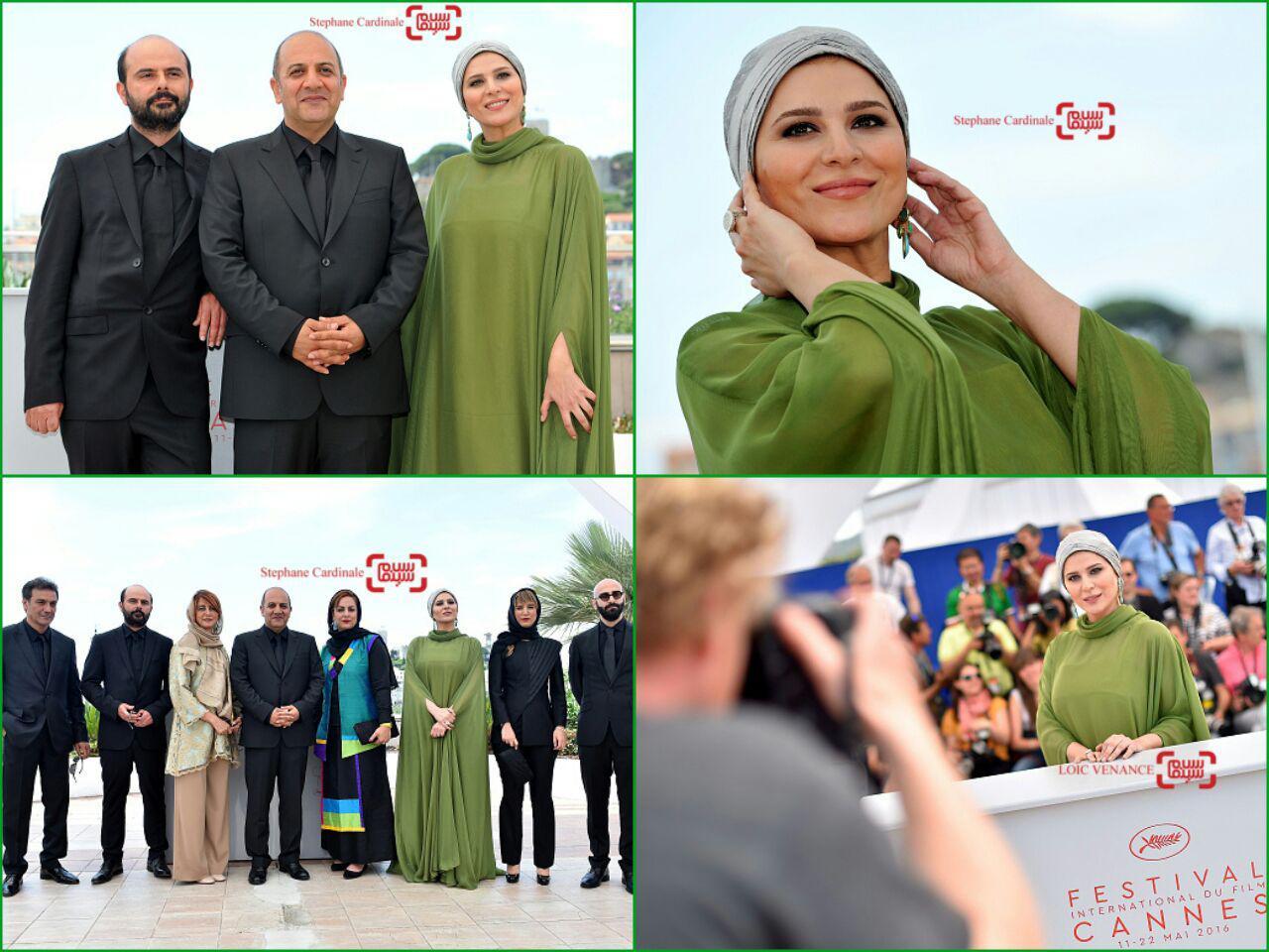 گزارش تصویری روز هفتم جشنواره کن 2016 با حضور سحر دولتشاهی، علی مصفا و بهنام بهزادی