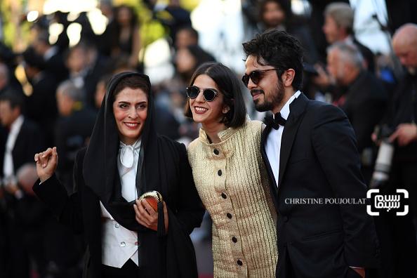 سولماز پناهی و بهناز جعفری در اختتامیه جشنواره فیلم کن 2018