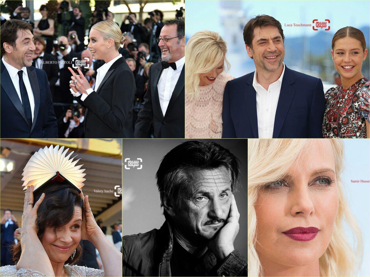 گزارش تصویری روز نهم جشنواره کن 2016 با حضور شارلیز ترون و شان پن