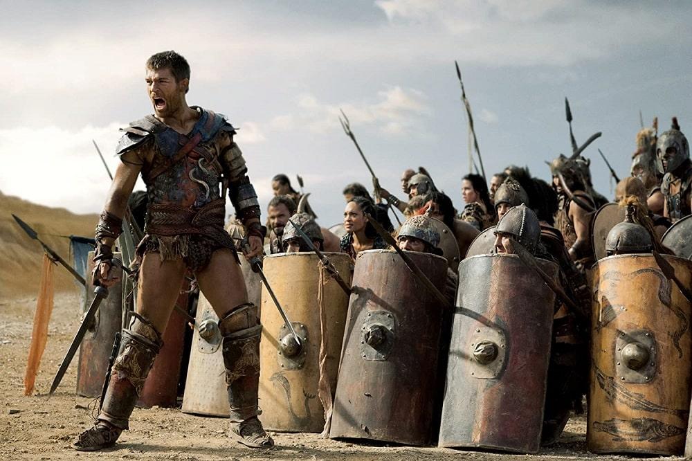 بهترین سریال های اکشن - اسپارتاکوس (Spartacus)