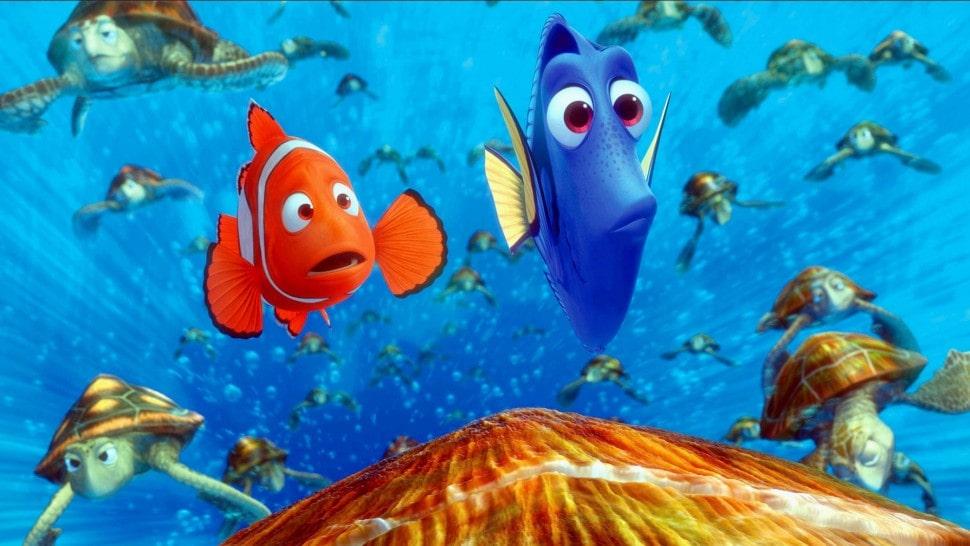 بهترین انیمیشن های تاریخ سینمای جهان - در جستجوی نمو (Finding Nemo)