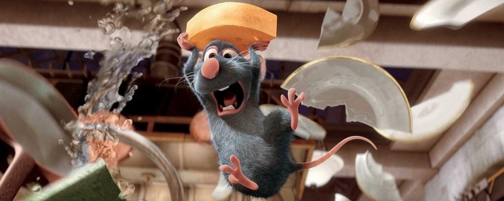 بهترین انیمیشن های تاریخ سینمای جهان - موش سرآشپز (Ratatouille)