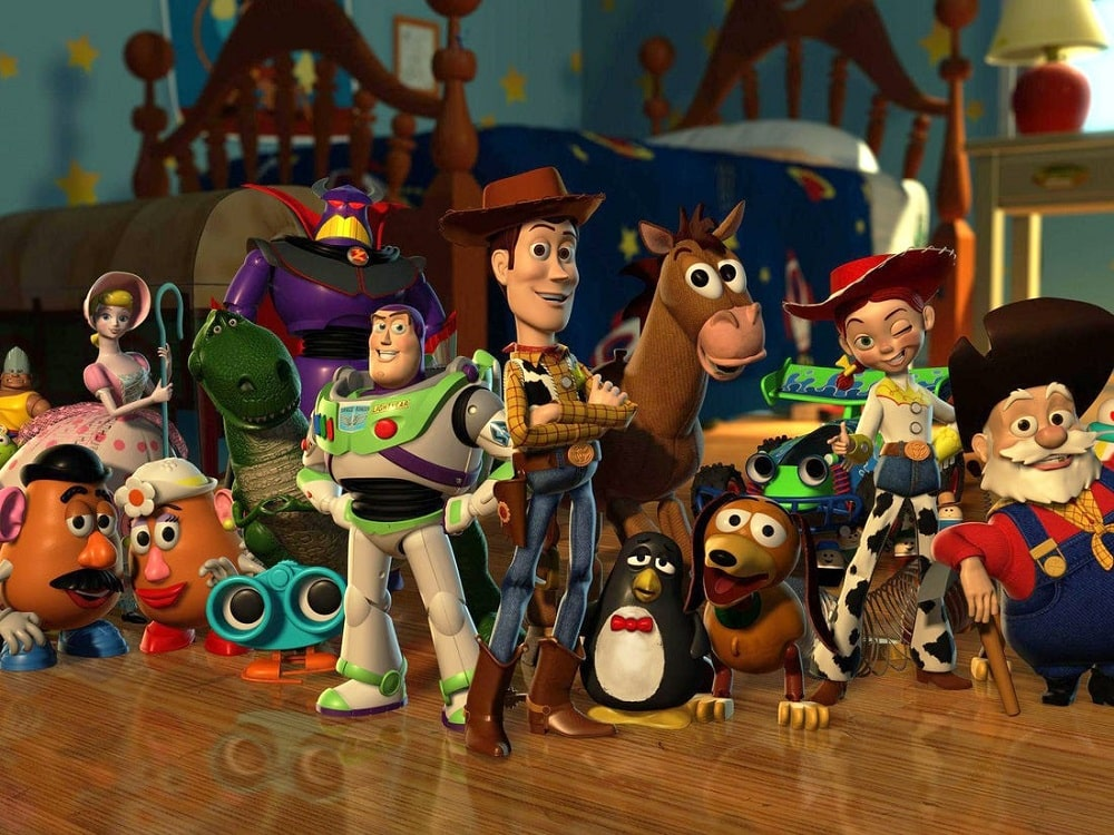 بهترین انیمیشن های تاریخ سینمای جهان - داستان اسباب بازی (Toy Story)