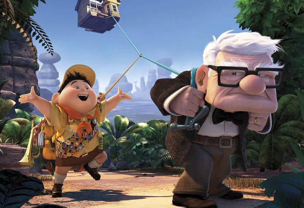 بهترین انیمیشن های تاریخ سینمای جهان - بالا (Up)