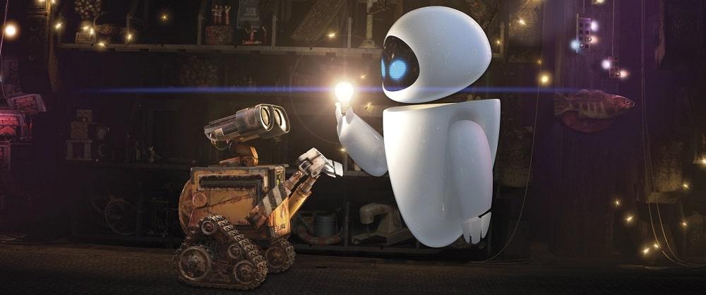 بهترین انیمیشن های تاریخ سینمای جهان - وال-ای (Wall-E)