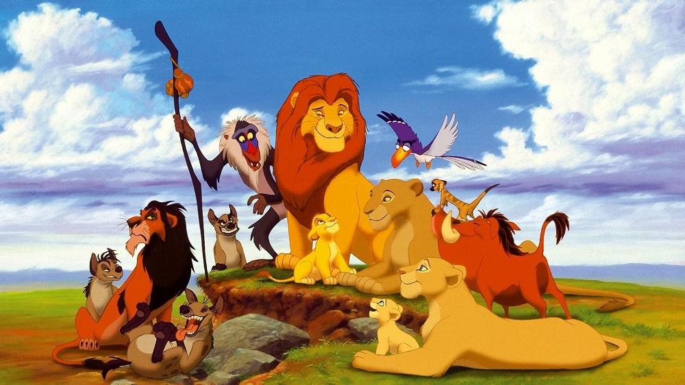 بهترین انیمیشن های تاریخ سینمای جهان - شیرشاه (The Lion King)