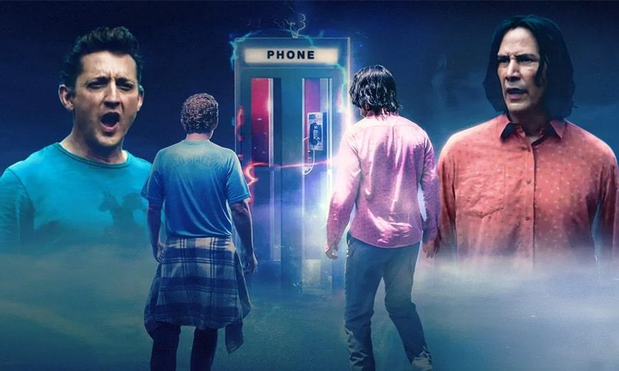 بهترین فیلمهای علمی تخیلی 2020 - بیل و تد با موسیقی مواجه می شوند (bill and ted face the music)
