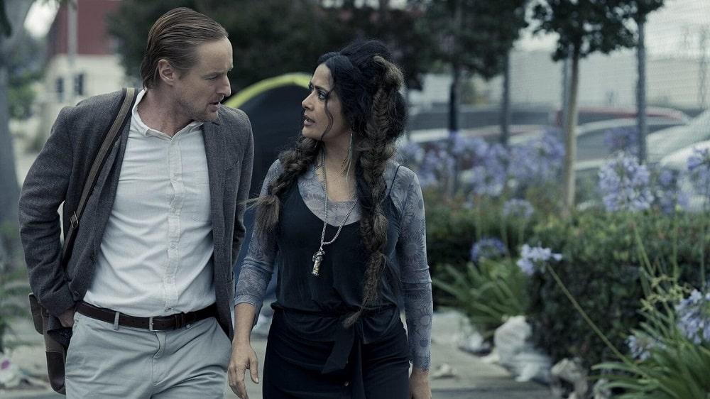 بهترین فیلمهای علمی تخیلی 2021-سعادت-اوون ویلسون و سلما هایک