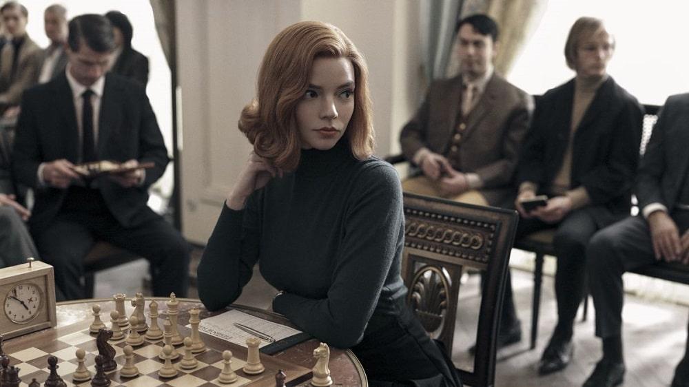 بهترین سریال های سال 2020 - گتمبی وزیر (queen's gambit)