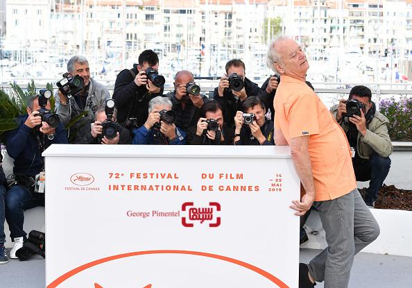 بیل مری در فتوکال فیلم «مرده نمی میرد»(The Dead Don't Die) در جشنواره فیلم کن 2019