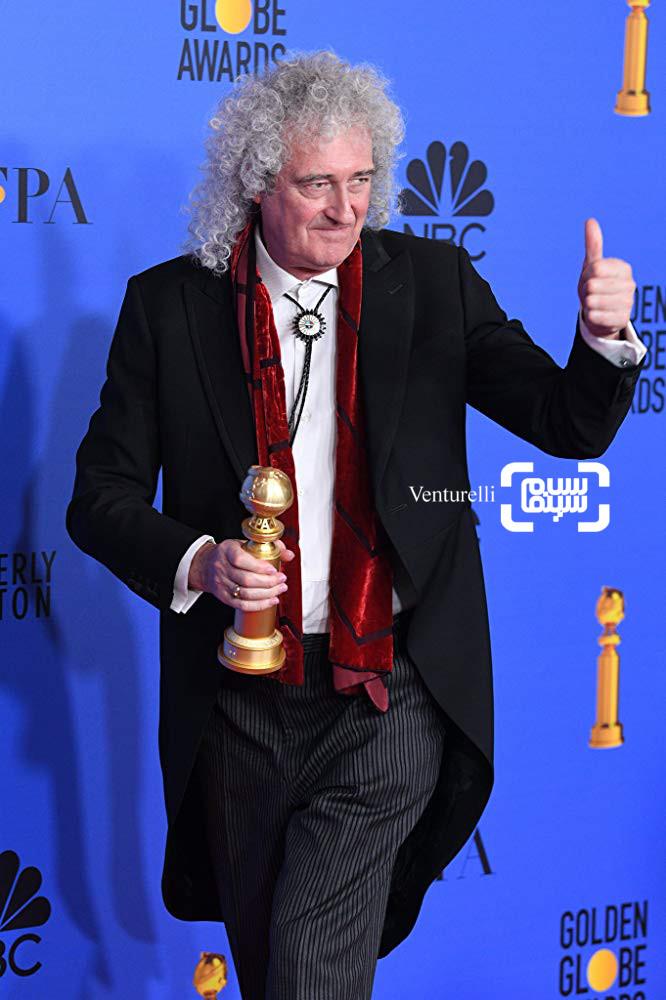 برایان می گزارش تصویری از جوایز گلدن گلوب 2019