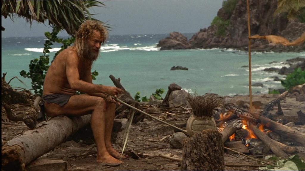 تام هنکس در فیلم دورافتاده