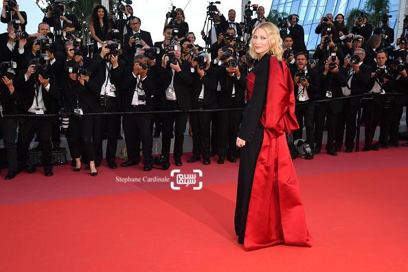 کیت بلانشت در اختتامیه جشنواره فیلم کن 2018