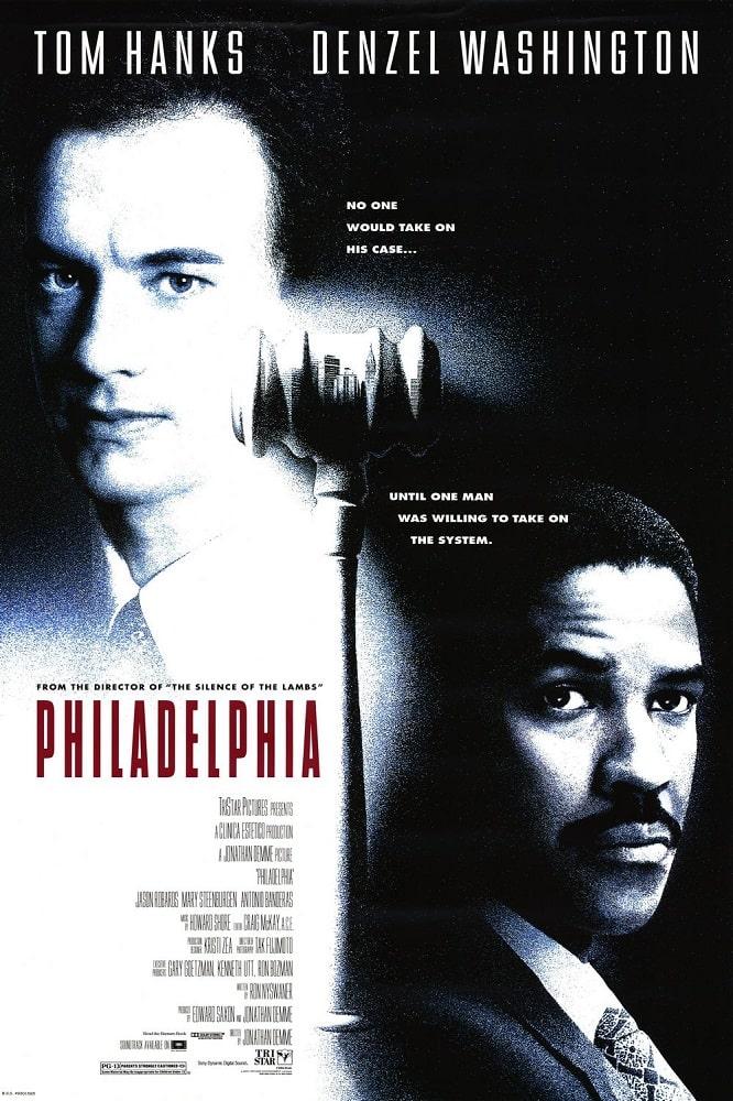 فیلم های مطرحی که دنیل دی لوئیس بازی در آن ها را نپذیرفت - فیلادلفیا (Philadelphia)