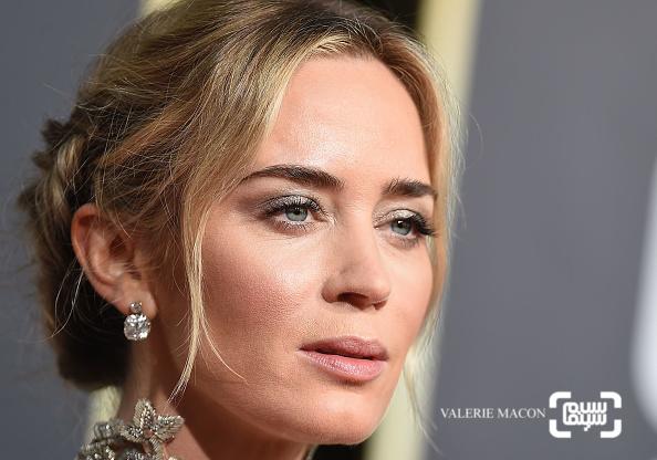 امیلی بلانت گزارش تصویری از جوایز گلدن گلوب 2019