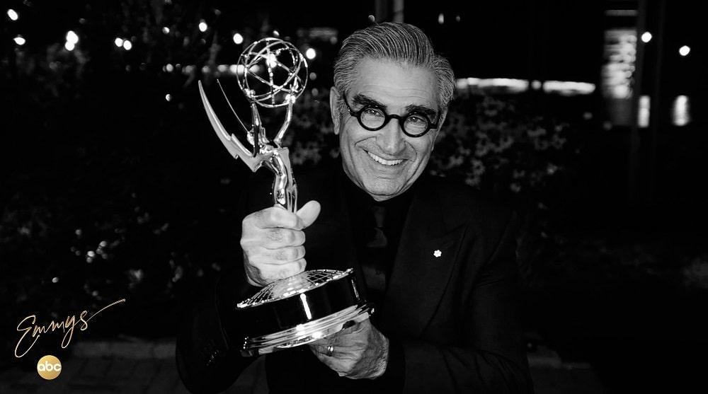 یوجین لوی - برنده جایزه بهترین بازیگر مرد سریال کمدی در امی 2020