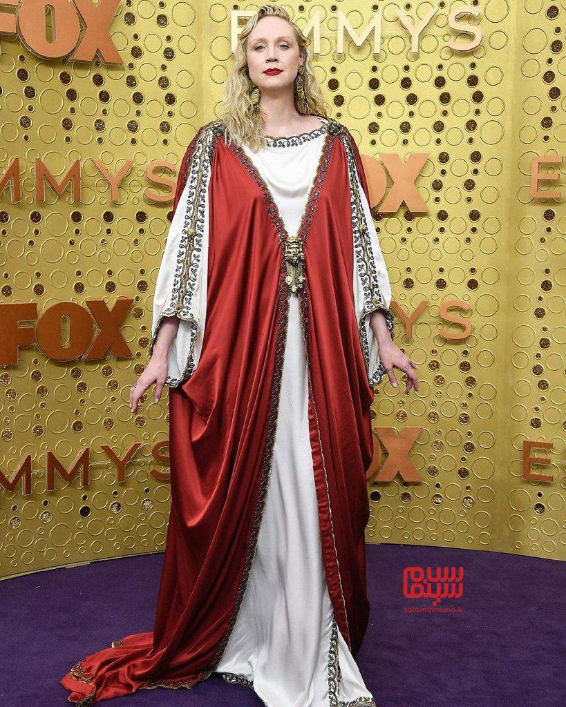 عکس گوئندولین کریستیبازی سریال بازی تاج و تخت در امی 2019 (اسکار تلویزیونی)
