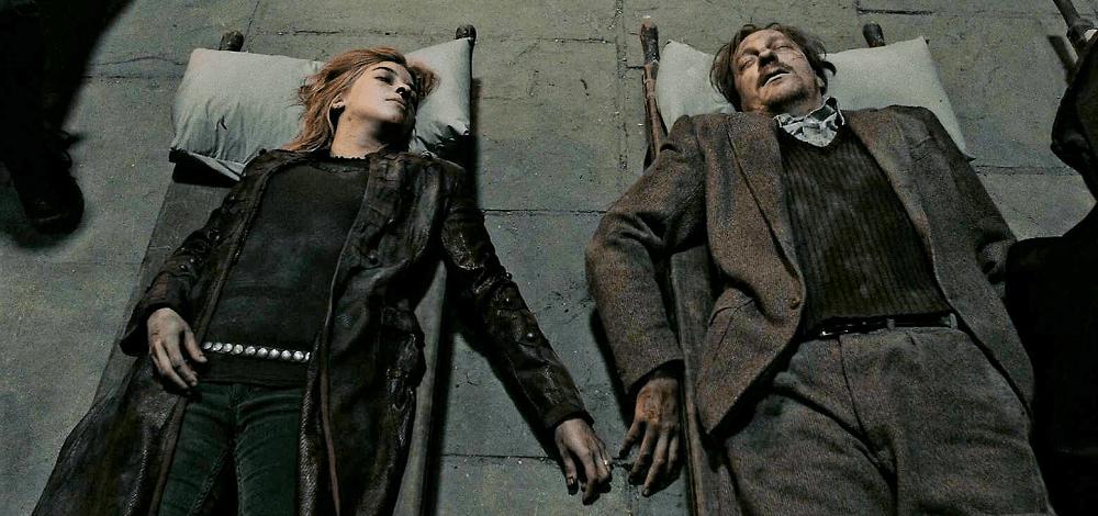 بهترین و بدترین پایانبندیها برای شخصیتهای سری فیلم های هری پاتر - مرگ ریموس لوپین و نیمفادورا تانکس