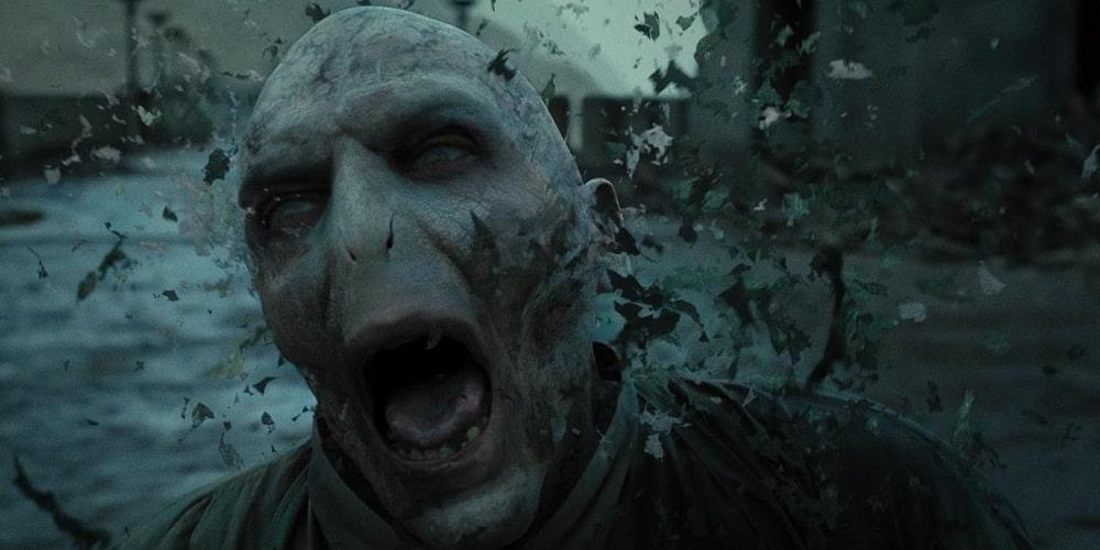 بهترین و بدترین پایانبندیها برای شخصیتهای سری فیلم های هری پاتر - مرگ لرد ولدمورت