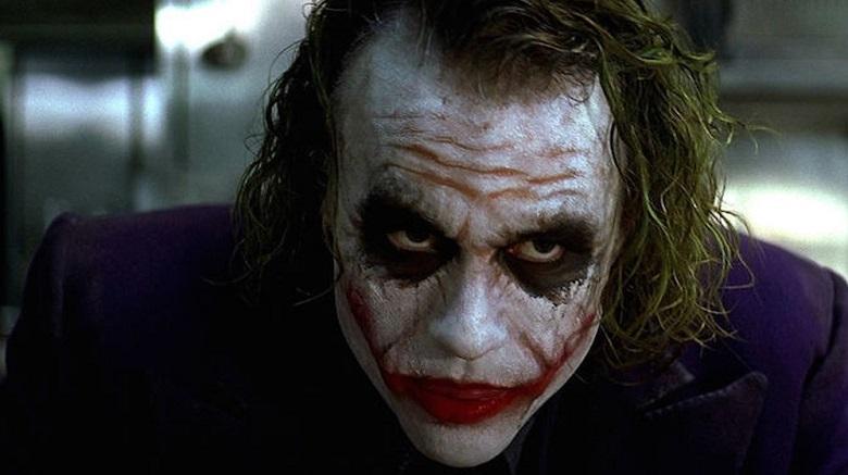 هیث لجر در نقش جوکر