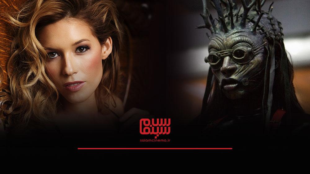 گریم های عجیب بازیگران در فیلم های ترسناک و چهره واقعی آن ها - آلیسیا ولا بیلی (Alicia Vela Bailey)