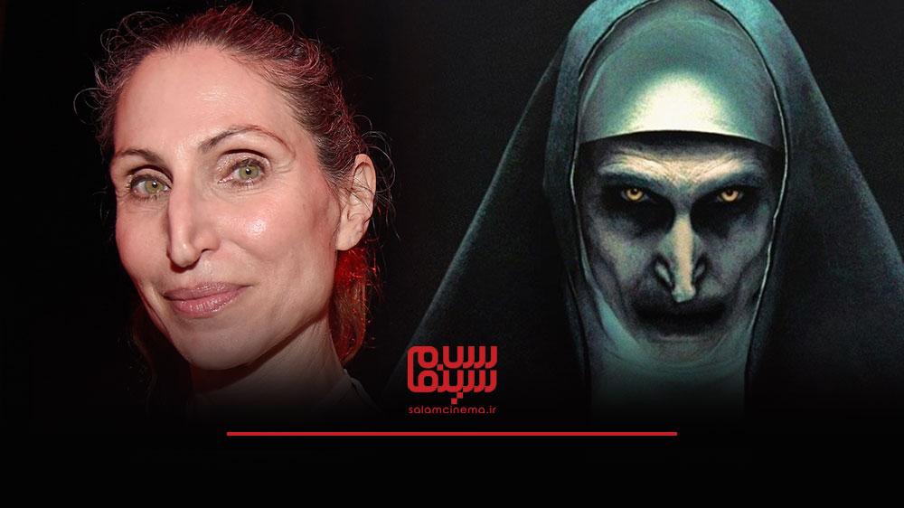 گریم های عجیب بازیگران در فیلم های ترسناک و چهره واقعی آن ها - بونی آرونز (Bonnie Aarons)