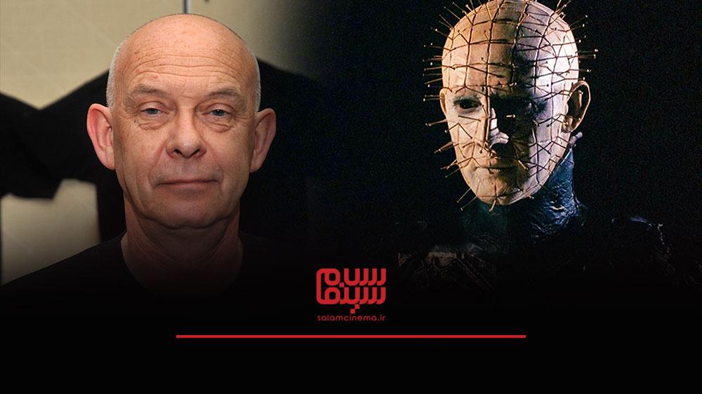 گریم های عجیب بازیگران در فیلم های ترسناک و چهره واقعی آن ها - داگ بردلی (Doug Bradley)