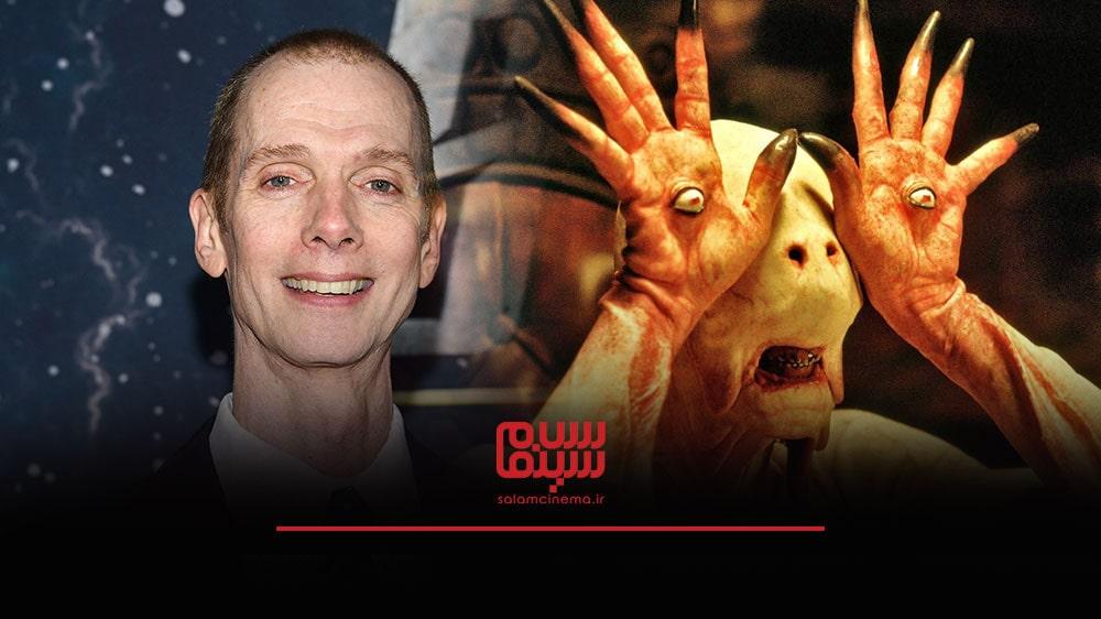 گریم های عجیب بازیگران در فیلم های ترسناک و چهره واقعی آن ها - داگ جونز (Doug Jones)