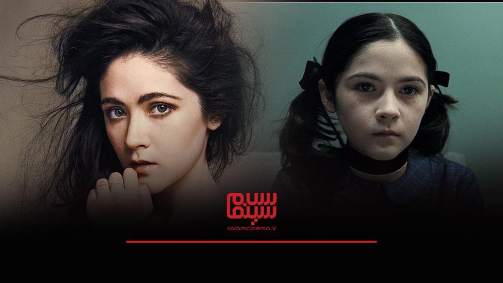 گریم های عجیب بازیگران در فیلم های ترسناک و چهره واقعی آن ها - ایزابل فرمن (Isabelle Fuhrman)