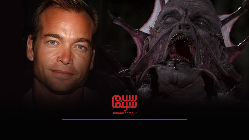 گریم های عجیب بازیگران در فیلم های ترسناک و چهره واقعی آن ها - جاناتان برک (Jonathan Breck)
