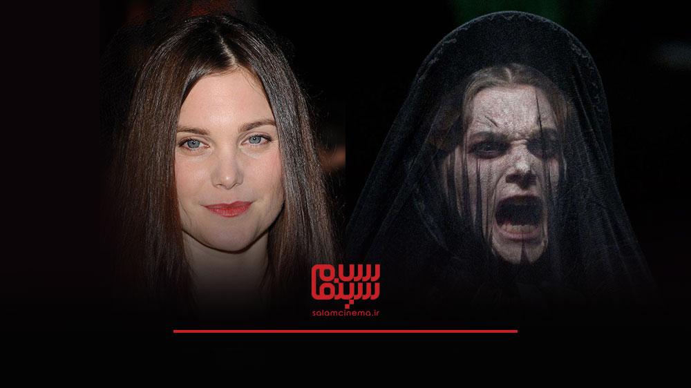 گریم های عجیب بازیگران در فیلم های ترسناک و چهره واقعی آن ها - لیز وایت (Liz White)