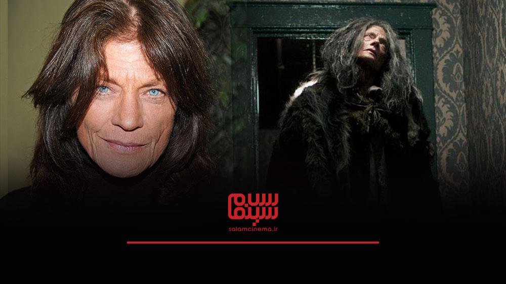 گریم های عجیب بازیگران در فیلم های ترسناک و چهره واقعی آن ها - مگ فاستر (Meg Foster)