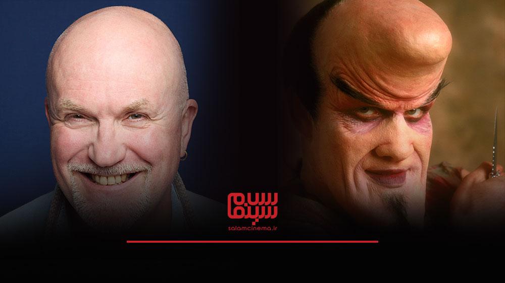 گریم های عجیب بازیگران در فیلم های ترسناک و چهره واقعی آن ها - نیکولاس وینس (Nicholas Vince)