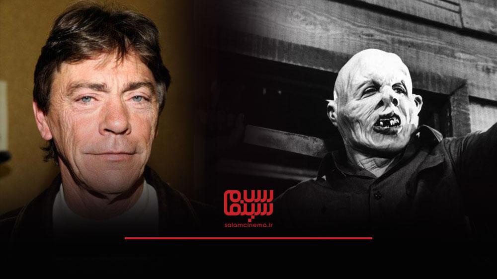 گریم های عجیب بازیگران در فیلم های ترسناک و چهره واقعی آن ها - ریچارد بروکر (Richard Brooker)
