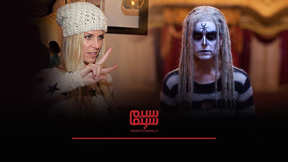 گریم های عجیب بازیگران در فیلم های ترسناک و چهره واقعی آن ها - شری مون زامبی (Sheri Moon Zombie)